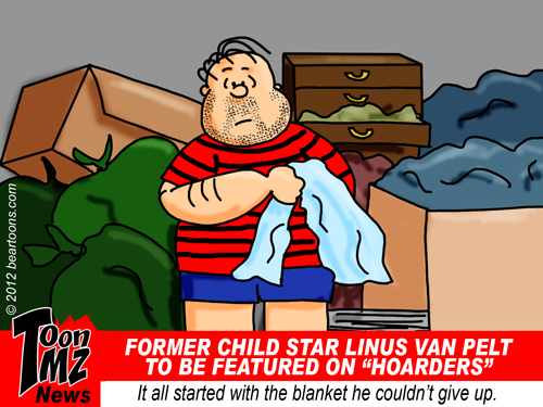ToonMZ Linus Van Pelt of Peanuts Fame to Appear on Hoarders