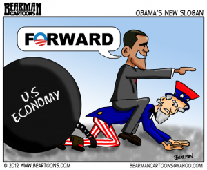 6-10-12-Bearman-Cartoon-Obama Forward Slogan Small