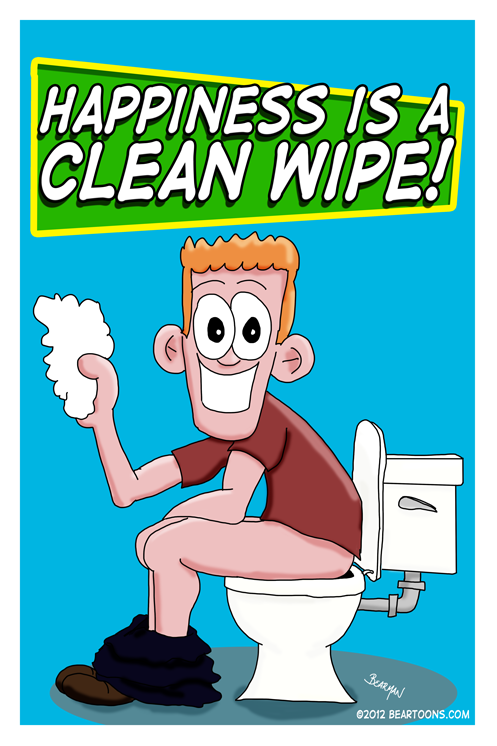Bearman-Cartoon-Happiness-is-a-Clean-Wipe